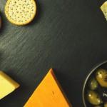 さまざまな種類のチーズの塩分の量の比較